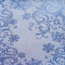 Scroll Snowflakes - Light Blue