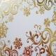 Gold Snowflake Scrolls