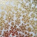 Gold Snowflakes