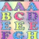 Large Upper & Lowercase Letters - Assorted Colours