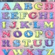 Small Upper & Lowercase Letters - Assorted Colours