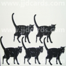 Large Black Cats