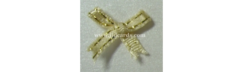 4mm Bows Metallic Trim